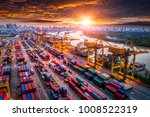 logistics and transportation of ... | Shutterstock . vector #1008522319