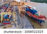 logistics and transportation of ... | Shutterstock . vector #1008522325