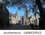 the lovely city of ghent ... | Shutterstock . vector #1008523915
