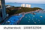 Aerial View Of  Pattaya  ...