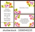 romantic invitation. wedding ... | Shutterstock . vector #1008540235