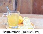 hot lemon water treatment... | Shutterstock . vector #1008548191