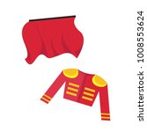 red things of a bullfighter... | Shutterstock .eps vector #1008553624