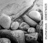 close up of small rounded rocks ... | Shutterstock . vector #1008576025