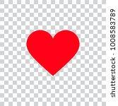 love heart ion | Shutterstock .eps vector #1008583789