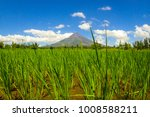 mount mayon volcano view from... | Shutterstock . vector #1008588211