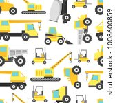cartoon construction machinery... | Shutterstock .eps vector #1008600859