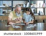 smart game. serene elderly man...   Shutterstock . vector #1008601999
