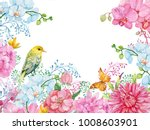 Beautiful Floral Background For ...