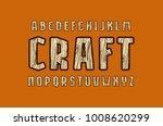 geometric sans serif font with...   Shutterstock .eps vector #1008620299