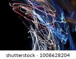 color magic line. abstract... | Shutterstock . vector #1008628204
