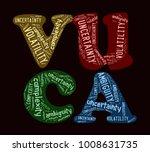 vuca world concept   Shutterstock . vector #1008631735