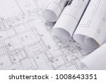 plans of building.... | Shutterstock . vector #1008643351
