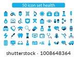 icon set health hospital | Shutterstock .eps vector #1008648364