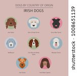 dogs by country of origin.... | Shutterstock .eps vector #1008651139