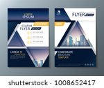 annual report brochure flyer... | Shutterstock .eps vector #1008652417