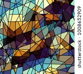 seamless background pattern.... | Shutterstock .eps vector #1008652909