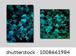 light blue  greenvector pattern ...