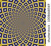 optical motion illusion bitmap... | Shutterstock . vector #1008668569
