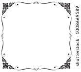 frame and border  square  black ... | Shutterstock .eps vector #1008669589