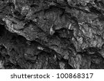 Black Wall Stone Texture