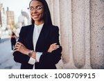 half length portrait of...   Shutterstock . vector #1008709915