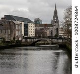 view of river lee and the holy... | Shutterstock . vector #1008724864