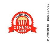 pop corn box icon for cinema... | Shutterstock .eps vector #1008727789