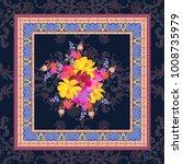 tea box wrapping design.... | Shutterstock . vector #1008735979