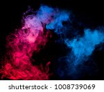 abstract colorful smoke... | Shutterstock . vector #1008739069