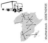 transportation for african... | Shutterstock .eps vector #1008740935