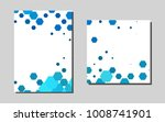 light blue vector layout for...
