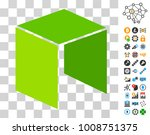 neo currency pictograph with...