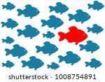 leadership vector concept  ... | Shutterstock .eps vector #1008754891