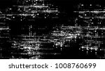grainy black and white distress ... | Shutterstock .eps vector #1008760699