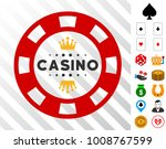royal casino chip pictograph...