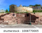 exterior view of tomb of melike ...   Shutterstock . vector #1008770005