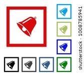 bell icon vector  alarm ...