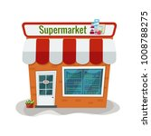 vector illustration of grocery... | Shutterstock .eps vector #1008788275