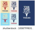 the lone star star nickname... | Shutterstock .eps vector #1008799831