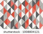 black grey red white mosaic... | Shutterstock .eps vector #1008804121