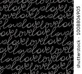 valentines pattern with... | Shutterstock .eps vector #1008806905
