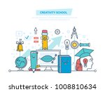 creativity school. creative... | Shutterstock .eps vector #1008810634