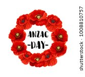 Anzac Day Memorial Wreath Icon...
