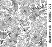vector seamless pattern with... | Shutterstock .eps vector #1008814201