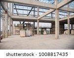 concrete structure beam column...   Shutterstock . vector #1008817435