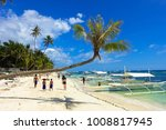 alona beach  bohol  ... | Shutterstock . vector #1008817945