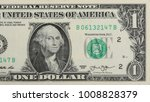 One Dollar Bill  Isolated On...