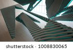 abstract  concrete and wood... | Shutterstock . vector #1008830065