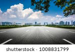 road modern building in the big ... | Shutterstock . vector #1008831799
